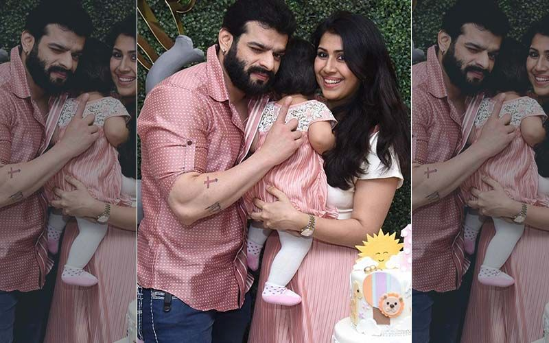 Karan Patel Shares FIRST GLIMPSE Of Baby Mehr's Face; Posts A Lovely Picture Of Father-Daughter Bonding Time- PIC INSIDE