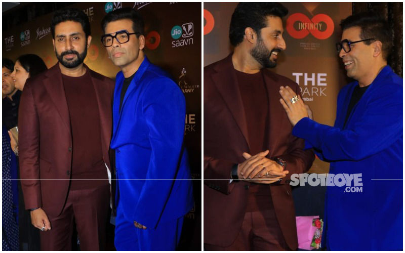 Karan Johar And Abhishek Bachchan's 'Dostana' Is Super Adorbs In Their Almost Twinning Act!