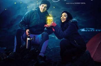 वैलेंटाइन डे के मौके पर रिलीज़ हुआ सनी देओल के बेटे करण की फिल्म 'पल पल दिल के पास' का पोस्टर