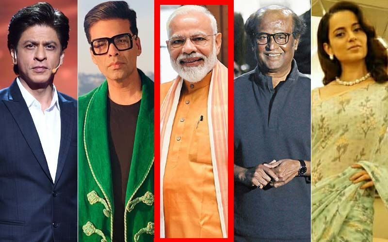 PM Narendra Modi's Swearing-In Ceremony: शाहरुख से लेकर रजनीकांत, कंगना और करण जौहर जैसे कई सितारें होंगे शामिल