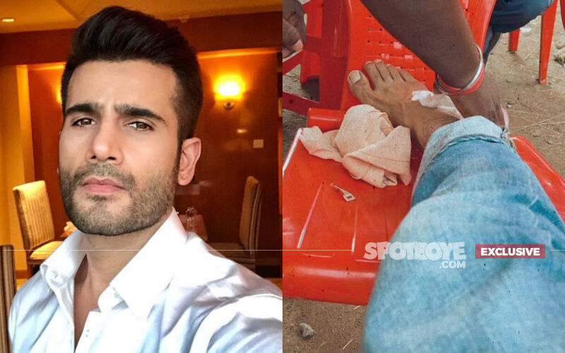 Karan Tacker Injures Himself While Shooting An Action Sequence In Jharkhand; Actor Says 'Feeling Guilty For Holding The Production'-EXCLUSIVE