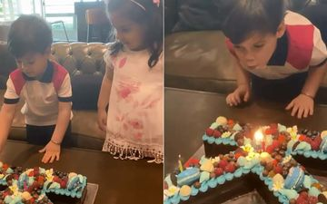 Karan Johar Birthday: Yash And Roohi Blow Candles, Stop KJo From Eating His Own Birthday Cake As He Will 'Grow Fat'-VIDEO