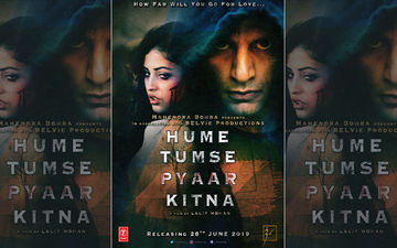 Karanvir Bohra Unveils First Poster Of His Debut Production, Hume Tumse Pyaar Kitna