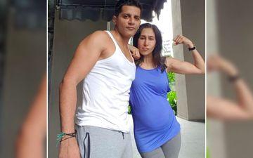 Karanvir Bohra's Preggers Wife Teejay Sidhu Steals His 'Ganji'; Actor Asks If All Pregnant Ladies Do This?