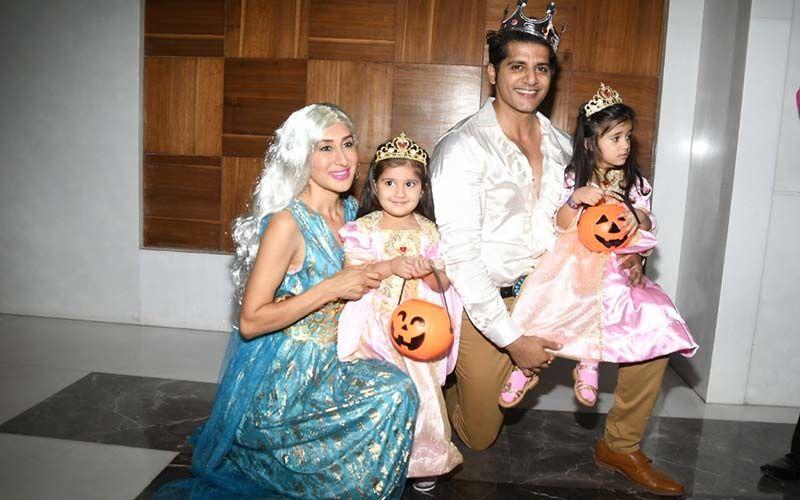 Karanvir Bohra And Wife Teejay Sidhu's Halloween Themed Birthday Bash For Their Kids Was An Absolute Hit