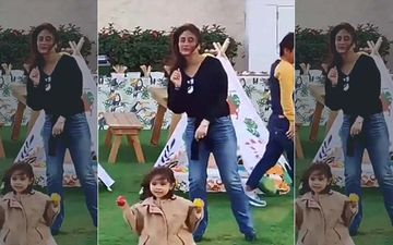 Kareena Kapoor Khan Dances To 'Baby Shark' With Taimur And It Is The Cutest Thing You'll See Today - VIDEO