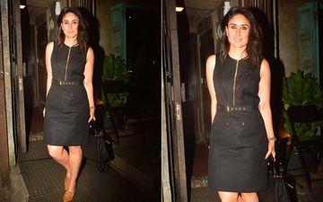 Kareena Kapoor Khan Steps Out For A Dinner Date In A Damn-Hot Little Black Dress; Consider The Internet Broken - Pics Inside