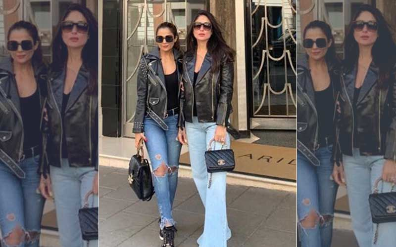 Kareena Kapoor Khan Swaggers Across London Streets With BFF Amrita Arora In Style!