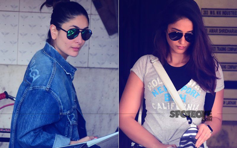 SPOTTED: Kareeena Kapoor & Ileana D'Cruz Outside The Gym