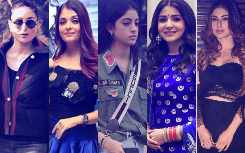 STUNNER OR BUMMER: Kareena Kapoor, Aishwarya Rai Bachchan, Navya Naveli Nanda, Anushka Sharma Or Mouni Roy?