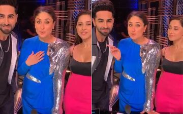 Dream Girl: Poo Kareena Kapoor Khan Helps Pooja Ayushmann Khurrana To Promote The Film