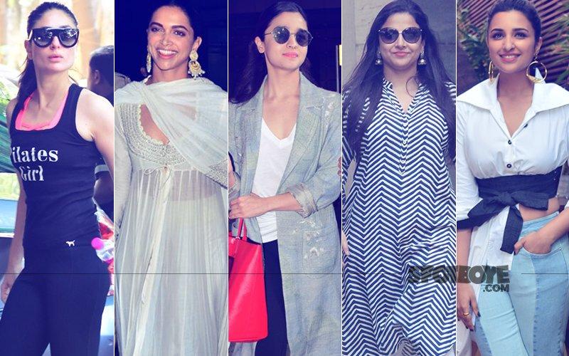 STUNNER OR BUMMER: Kareena Kapoor, Deepika Padukone, Alia Bhatt, Vidya Balan Or Parineeti Chopra?