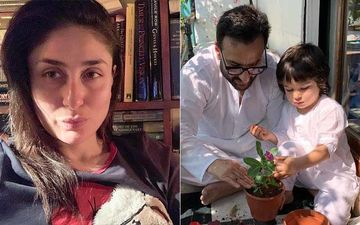 Janta Curfew: Kareena Kapoor Khan Shares A Glimpse Of Her Boys Taimur Ali Khan And Saif Ali Khan 'Doing Their Bit'