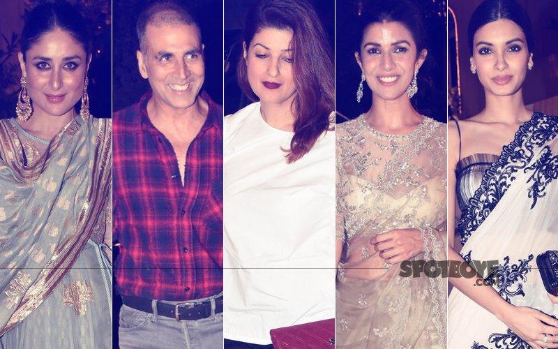 Kareena, Akshay, Twinkle, Nimrat, Diana Shine At Homi Adajania's Party