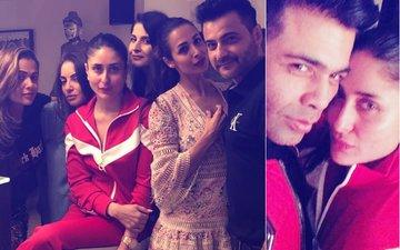Kareena Lets Her Hair Down With Malaika, Amrita, Karan & Arjun