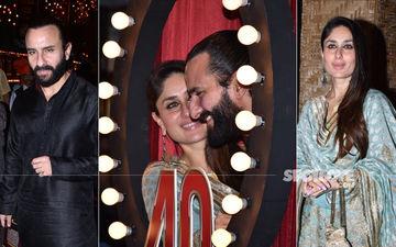Kareena Kapoor And Saif Ali Khan Look Nothing Less Than Royal At Prithvi Theatre Festival