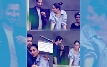 Kareena Kapoor's LEAKED Picture With Sumeet Vyas On-The-Sets Of Veere Di Wedding!