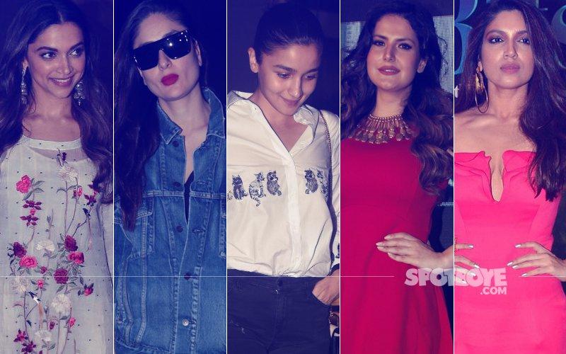 STUNNER OR BUMMER: Kareena Kapoor, Deepika Padukone, Alia Bhatt, Zareen Khan Or Bhumi Pednekar?