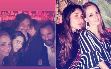 Last Night In London: Kareena Kapoor-Saif Ali Khan & Karisma Turn Into Party Animals
