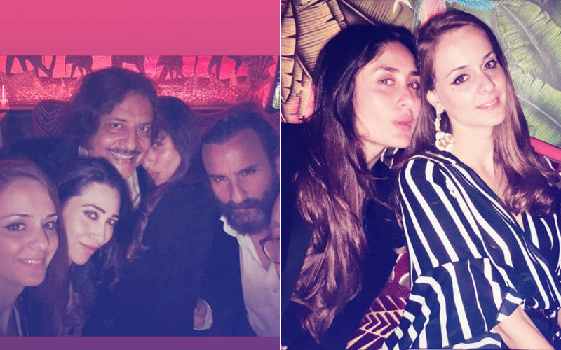 Last Night In London: Kareena Kapoor-Saif Ali Khan & Karisma Turn Into Party Animals