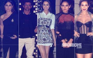 Ambani Bash: Kareena Kapoor, Hrithik Roshan, Shraddha Kapoor, Mira Rajput, Malaika Arora Make Heads Turn