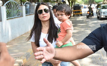 Kareena Kapoor Khan And Taimur Ali's Voting Day OOTD Is Patriotically Adorable!