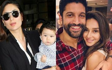 "Kareena Kapoor Khan Calls Taimur ""More Stylish Than Ranveer,"" Shibani Dandekar Labels Boyfriend Farhan Akhtar As ""Best Dressed Celebrity"""