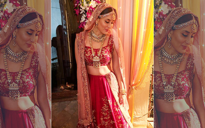 Kareena Kapoor Khan Dons Bridal Look And It Is Regal Beyond Measure