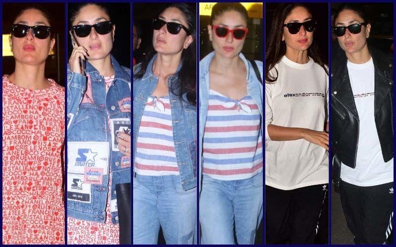 Kareena Kapoor Khan Has No Inhibitions In Repeating Her Airport Looks