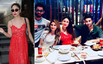 Kareena Kapoor Khan's Day Out With Cousins, Stuns In A Lovely Red Dress