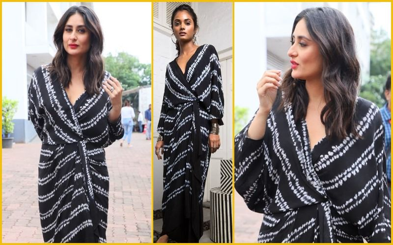 Kareena Kapoor Khan's Dyed Wrap Dress Is A Failed Attempt To Go Chic!