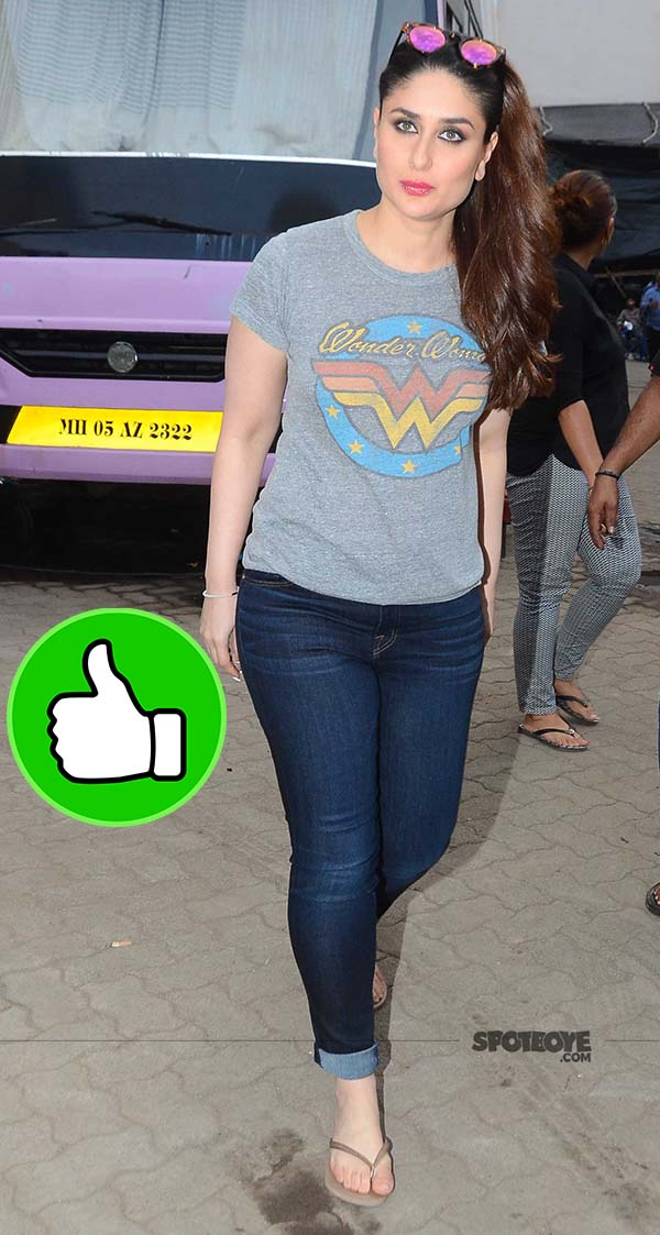 kareena kapoor looks cool in her casual avatar