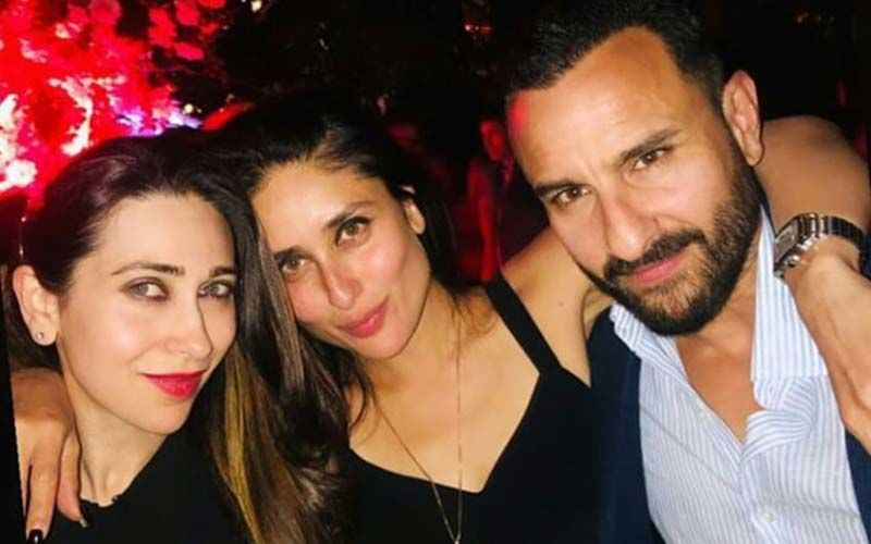 Kareena Kapoor-Saif Ali Khan Have A Gala Time In London As They Party With Karisma Kapoor