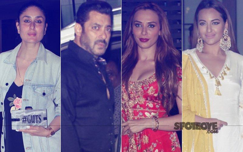 Kareena Kapoor, Salman Khan, Iulia Vantur, Sonakshi Sinha Celebrate Ganesh Utsav