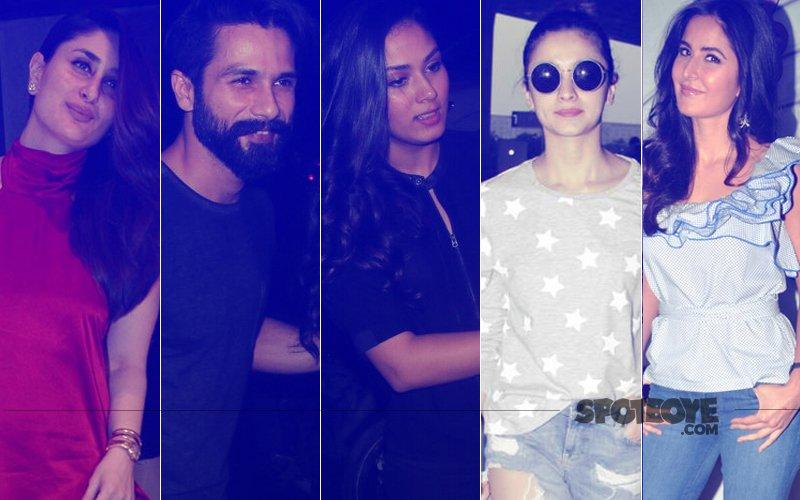 STUNNER OR BUMMER: Kareena Kapoor, Shahid Kapoor, Mira Rajput, Alia Bhatt Or Katrina Kaif?