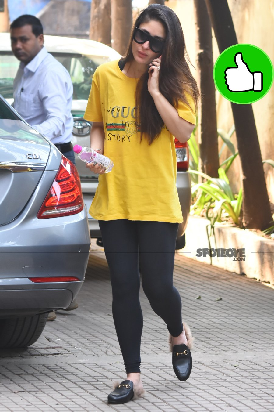 kareena kapoor snapped at gym session
