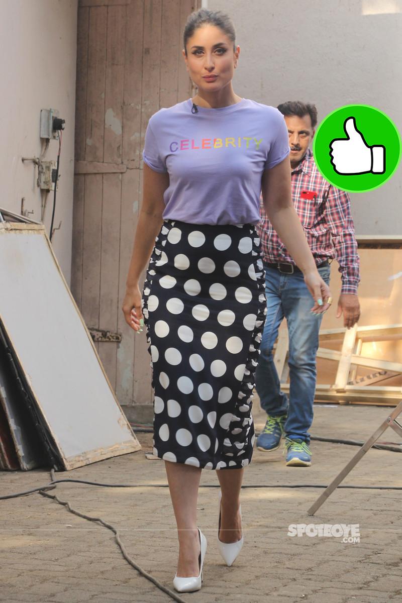 kareena kapoor snapped at mehboob studios