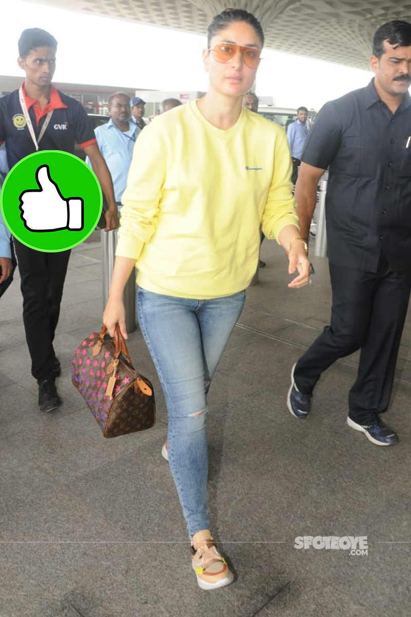 kareena kapoor snapped at the airport