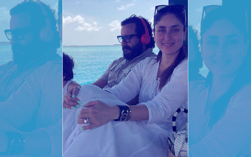 Taimur, Kareena Kapoor And Saif Ali Khan Are Having A Ball In Maldives