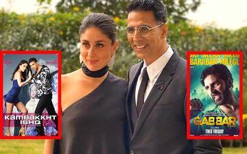 Akshay Kumar-Kareena Kapoor Khan Conveniently Forget Kambakkht Ishq-Gabbar As They Call Tashan Their Last Film