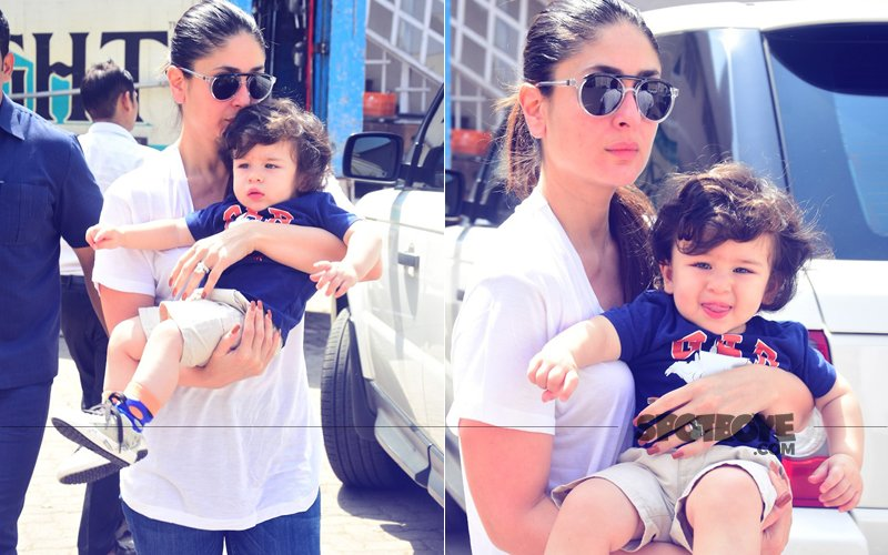 Guess Which Film Does Kareena Kapoor Want Taimur To Debut With?