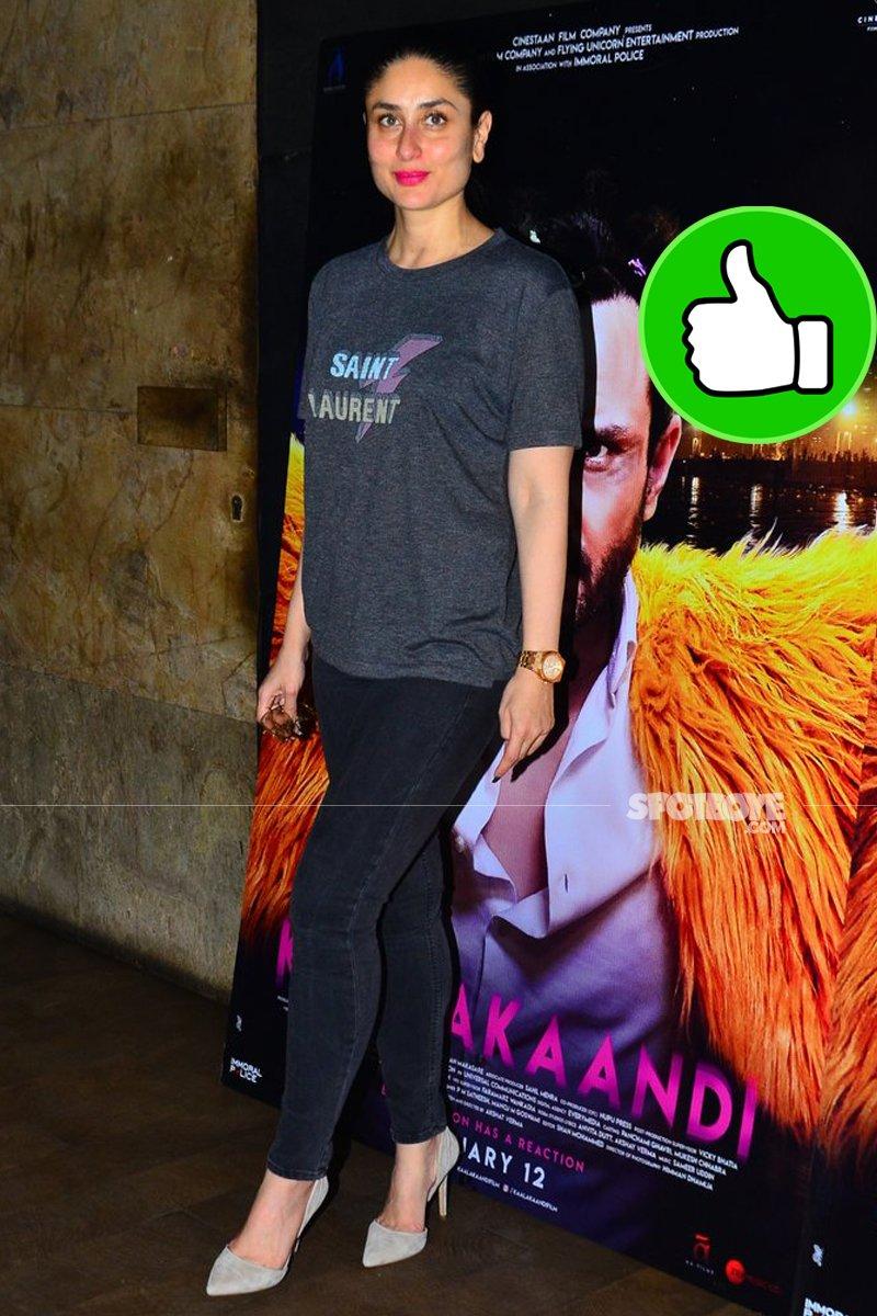 kareena kapor khan at kaalakandi screening
