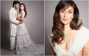 Kareena Kapoor Walks The Ramp With Sara's Rumoured Ex-BF Kartik Aaryan; We Can't Get Over Bebo's New Glam Hairdo Though- Pics