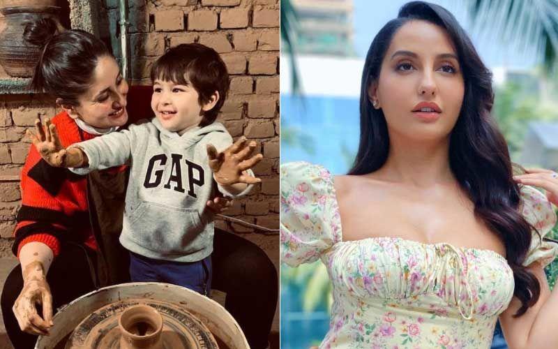 Kareena Kapoor Khan REACTS To Nora Fatehi's Desire To Marry Her Son Taimur Ali Khan