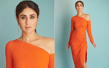 Kareena Kapoor Khan Latest Look From Dance India Dance 7 Proves That Orange Is The New Black!