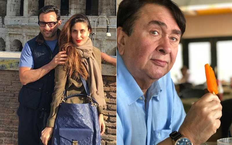 Kareena Kapoor Khan And Saif Ali Khan Set To Welcome Baby No 2; Daddy Randhir Kapoor Feels 'Do Bachche Toh Hone Chahiye'