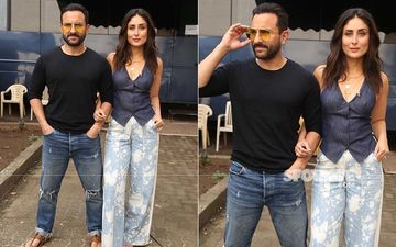 Kareena Kapoor Khan And Saif Ali Khan Make For Hot Looking Couple On A Monday Afternoon; Read To Know What The Couple Is Up To