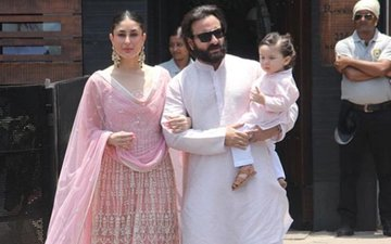 Sonam Kapoor Wedding: Kareena-Saif Are Here With Their Prince, Taimur