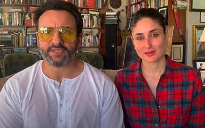 Second Time Pregnant Kareena Kapoor Khan Invades Hubby Saif Ali Khan's Closet And Steals His Shirt Again To Run Errands