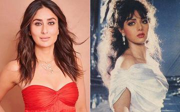 बड़े परदे पर डबल रोल करना चाहती हैं करीना कपूर खान, श्रीदेवी की फिल्म चालबाज को देखा इतनी बार